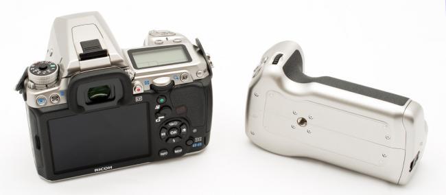 Pentax K-3 & Grip - Rear View