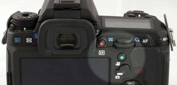 Pentax K-3 Movie Controls