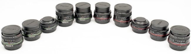 HD Pentax Limited Primes Review