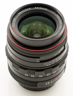 Pentax 20-40mm Lens (no hood)
