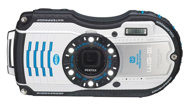 Pentax Announces White WG-3 Camera