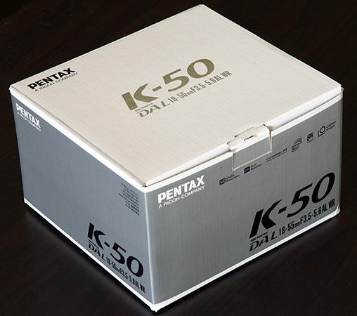 Pentax K-50 Box