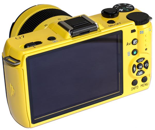 Pentax Q7 - LCD