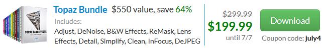 Big Savings at Topaz Labs - Get $100 Off!