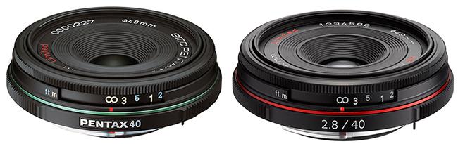 SMC Pentax-DA 40mm Limited vs HD Pentax-DA 40mm Limited