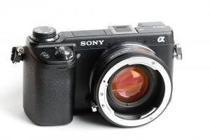Pentax Lens Turbo for Sony NEX Cameras