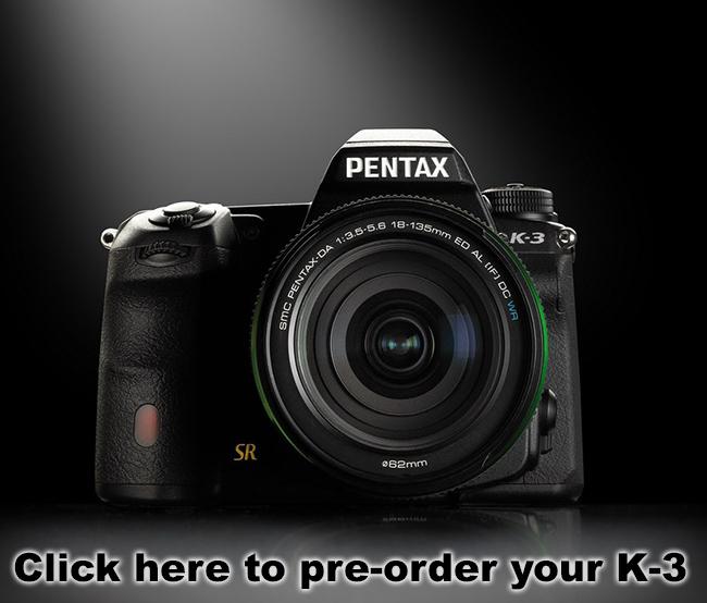 Pre-Order the Pentax K-3
