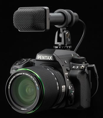 Pentax K-3 with Mic
