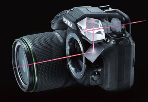 K-3 viewfinder