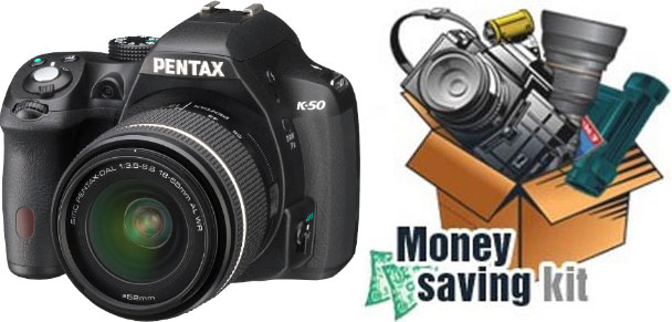 Pentax K-50 Money-Saving Kit