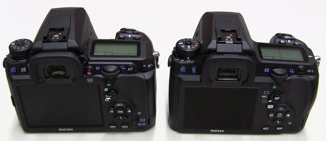 Pentax K-3 (left) vs K-5 II (right)