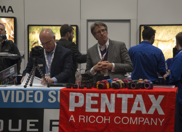 Pentax Makes it to PhotoPlus 2013!