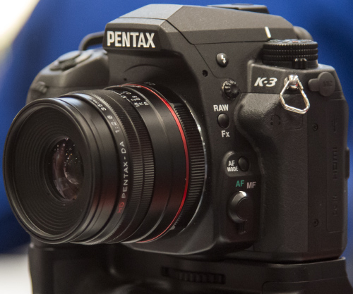 Pentax K-3 Impressions and Q&A at PhotoPlus