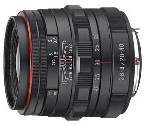 Pentax DA 20-40mm Limited & 08 Wide Zoom
