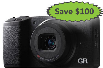 Save $100 on the Ricoh GR
