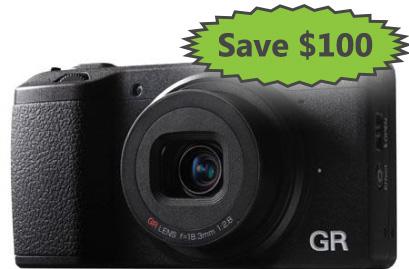 Save $100 on the Ricoh GR