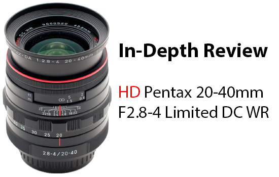HD Pentax 20-40mm Review Posted
