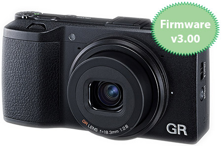 Ricoh GR Firmware v3.00 Released