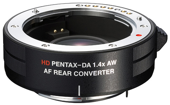 Pentax 1.4x SDM Teleconverter Surfaces