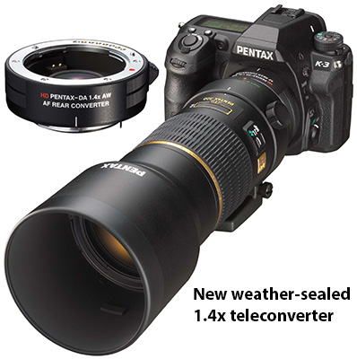 Pentax Announces New 1.4x Teleconveter