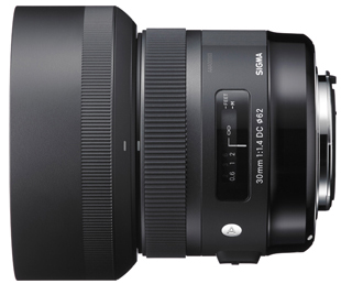 Sigma 30mm F1.4 Art Now Shipping for Pentax