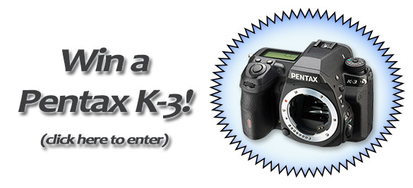 Pentax K-3 Photo Contest