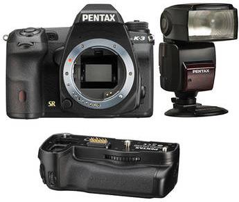 Pentax K-3 with $100 AF 540 Flash