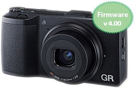 Ricoh GR Firmware v4.00 Released
