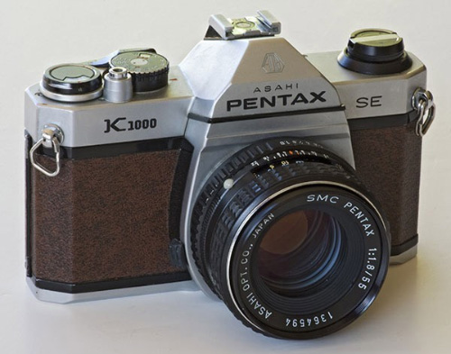 Pentax K1000SE
