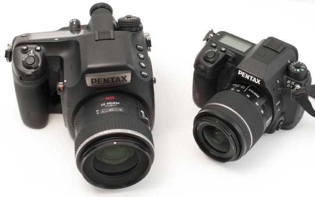 Pentax 645Z vs K-5