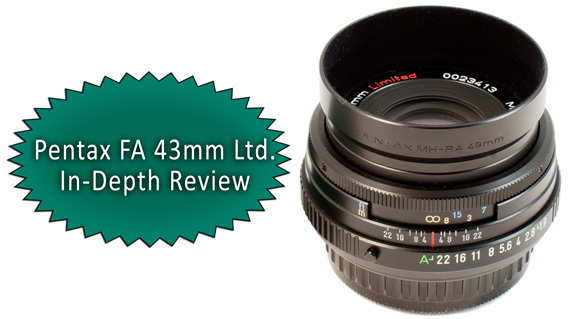 Pentax FA 43mm Limited Review
