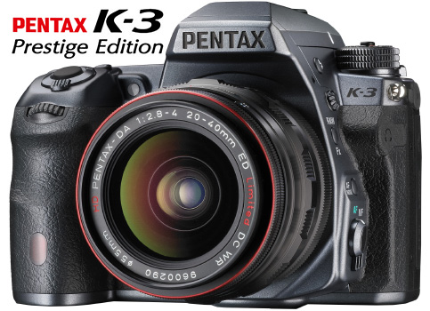 Pentax K-3 Prestige Edition Announced