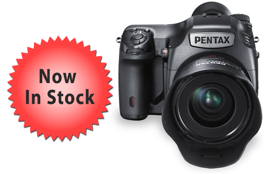 Pentax 645Z Now in Stock at B&H