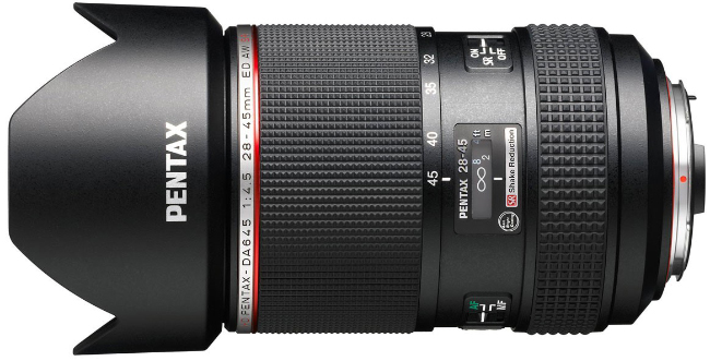 Pentax-DA 645 28-45mm Lens Now Shipping
