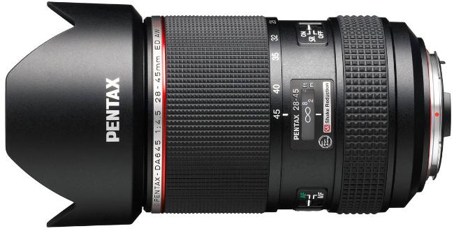 DA645 28-45mm F4.5 Lens Officially Announced
