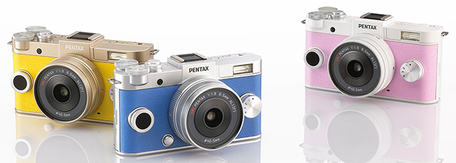 Pentax Q-S1 Custom Colors