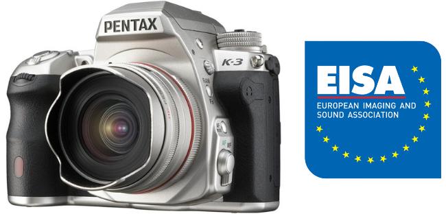Pentax K-3 Wins EISA 2014-2015 Award