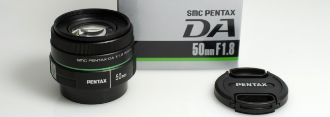 New Members: Win a Pentax DA 50mm Lens!
