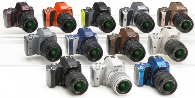 Pentax K-S1 All Colors
