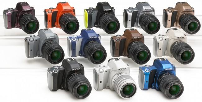 Pentax K-S1 Colors