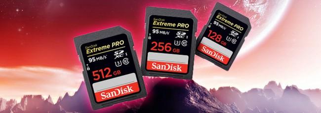 SanDisk Announces World's Largest SD Card