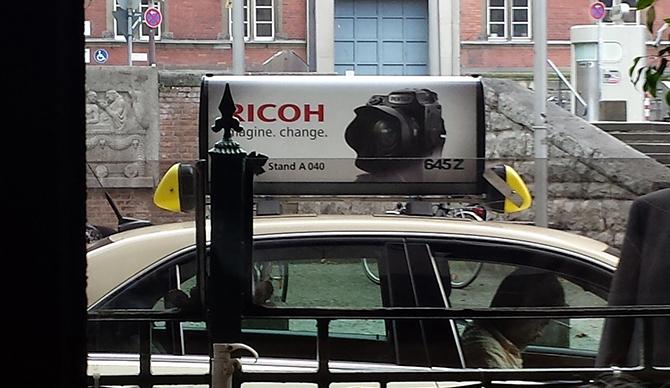 Pentax Taxi Ad