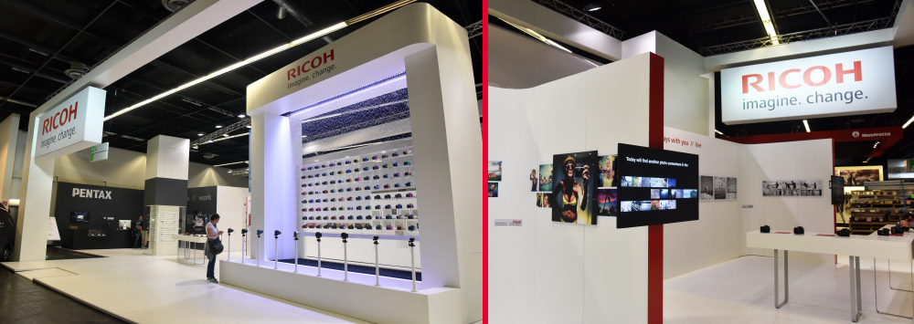 Ricoh Imaging Booth Video Tour