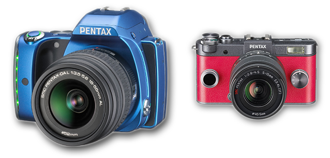 Pentax K-S1 and Q-S1
