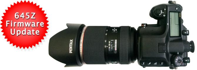 Pentax 645Z Firmware v1.10 Released