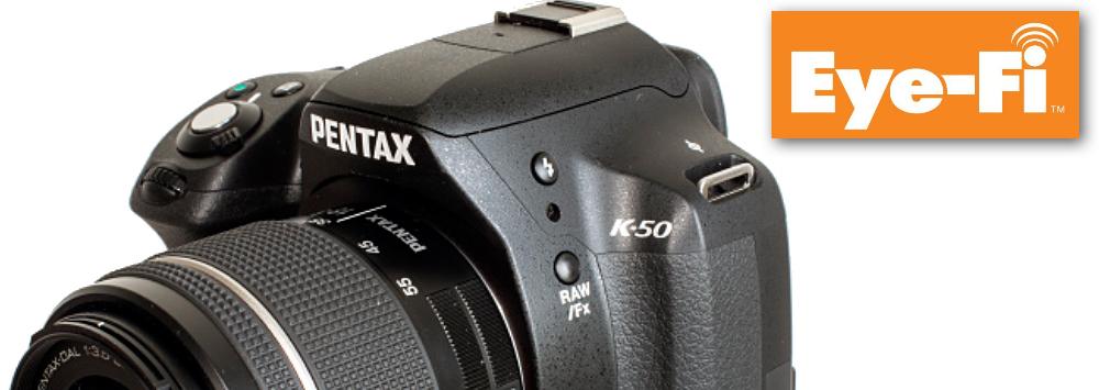 Pentax K-50 Eye-Fi Bundle