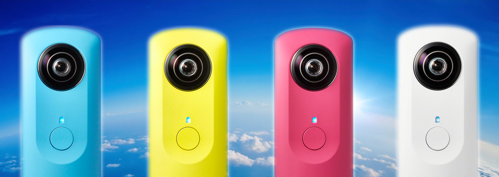 Video-Enabled Ricoh Theta Announced
