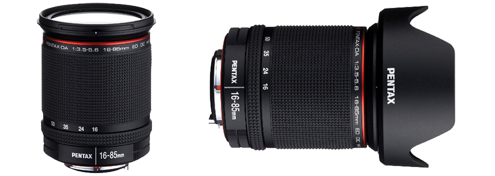 HD Pentax-DA 16-85mm Officially Announced