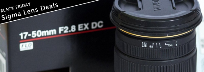 Black Friday Sigma Lens Deals (2014)
