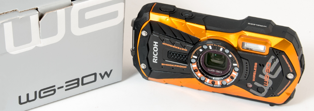 Ricoh WG-30w Review Posted